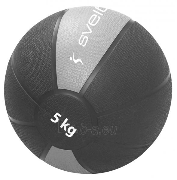 Svorinis kamuolys SVELTUS MEDICINE 5 kg Paveikslėlis 1 iš 1 310820179276