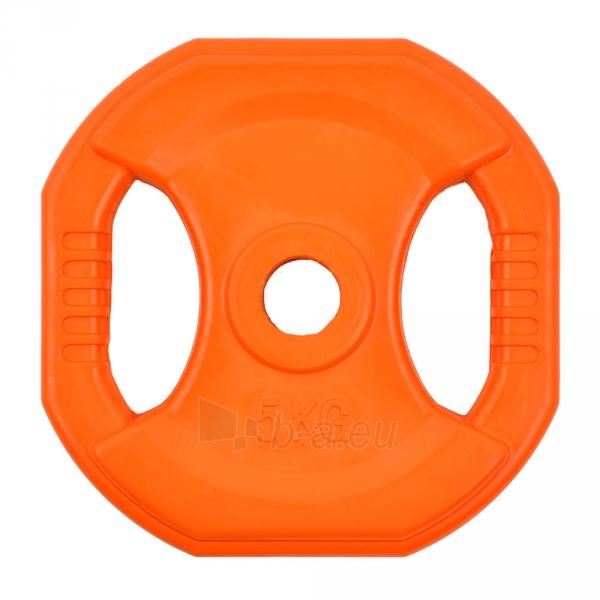 Svoris grifui inSPORTline Pump set 5 kg Paveikslėlis 1 iš 1 250574000413
