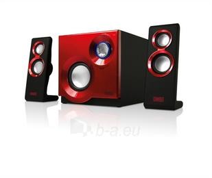 Sweex kolonėlių rinkinys 2.1 60W Purephonic Red Paveikslėlis 4 iš 4 310820037257