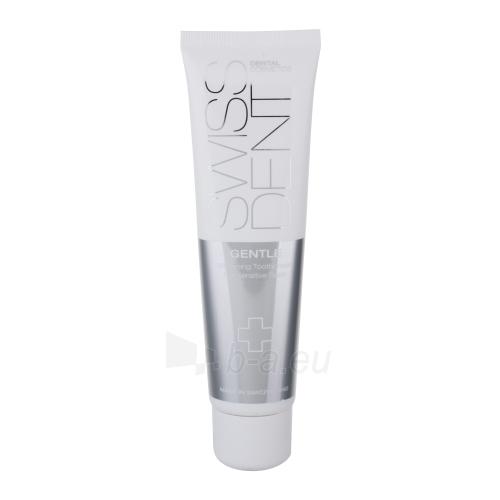 Swissdent Gentle Whitening Toothpaste Cosmetic 100ml Paveikslėlis 1 iš 1 250892000109