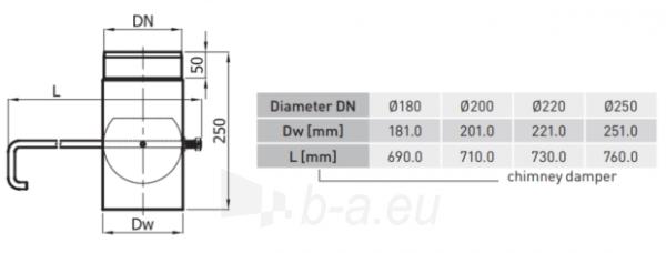 SZK sklende vamzdyje 180-CZ2(ML) ilg. rankenėlė (long handle) Paveikslėlis 2 iš 2 310820161540