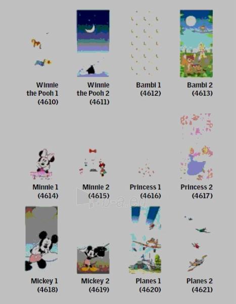 Tamsinanti užuolaidėlė DKL UK10 134x160 cm Disney Paveikslėlis 1 iš 3 310820026269