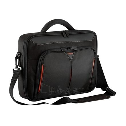 Targus Laptop Case for 15.4 - 16'' Classic+ Clamshell (CN415EU) / Polyester / Interior: 37.46 x 3.88 x 26.03 cm Paveikslėlis 1 iš 3 250256200658