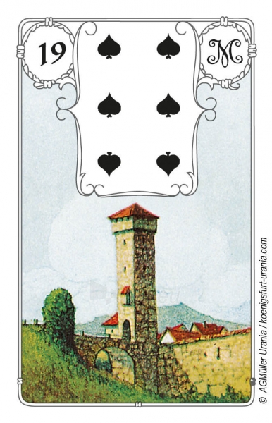 Taro Kortos Blue Owl Paveikslėlis 2 iš 7 310820142658