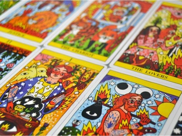 Taro kortos Del Fuego Paveikslėlis 5 iš 8 251010000276