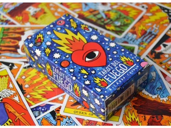 Taro kortos Del Fuego Paveikslėlis 6 iš 8 251010000276