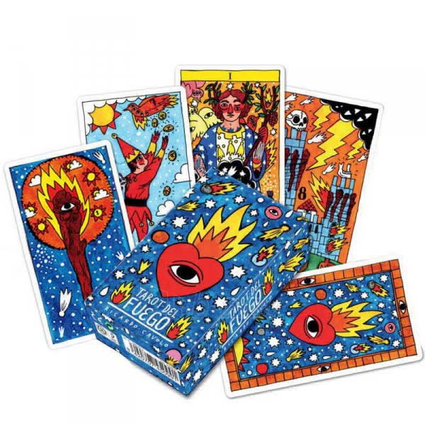 Taro kortos Del Fuego Paveikslėlis 7 iš 8 251010000276