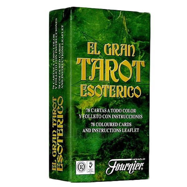 Taro kortos El Gran Esoterico Paveikslėlis 2 iš 5 251010000277