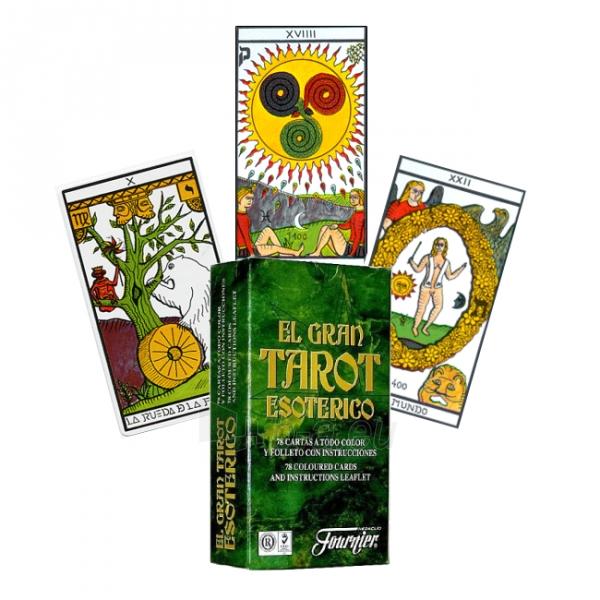 Taro kortos El Gran Esoterico Paveikslėlis 5 iš 5 251010000277