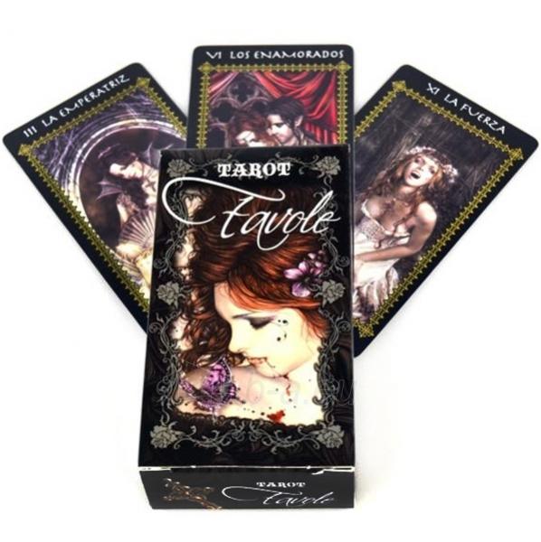 Taro kortos Favole Tarot Paveikslėlis 5 iš 5 251010000278