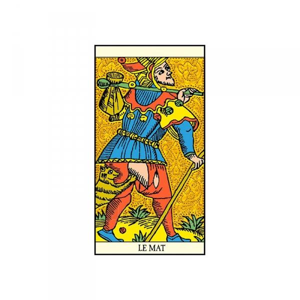 Taro Kortos Golden Tarot of Marseille Paveikslėlis 4 iš 7 310820145310