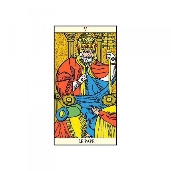 Taro Kortos Golden Tarot of Marseille Paveikslėlis 5 iš 7 310820145310