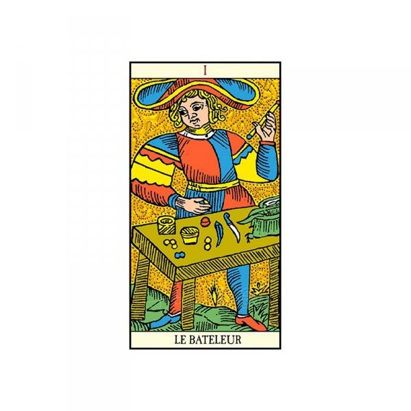 Taro Kortos Golden Tarot of Marseille Paveikslėlis 6 iš 7 310820145310