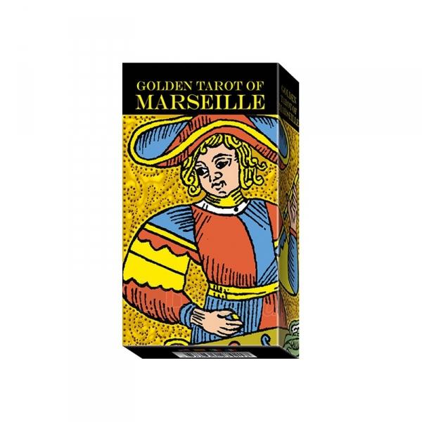 Taro Kortos Golden Tarot of Marseille Paveikslėlis 7 iš 7 310820145310