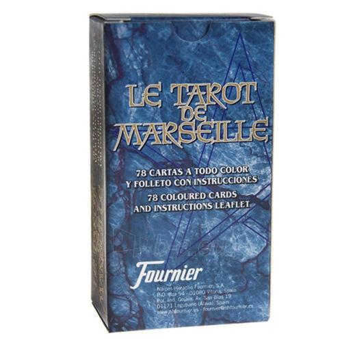Taro kortos Le Tarot de Marseilles Paveikslėlis 2 iš 8 251010000280