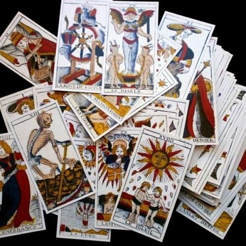 Taro kortos Le Tarot de Marseilles Paveikslėlis 4 iš 8 251010000280