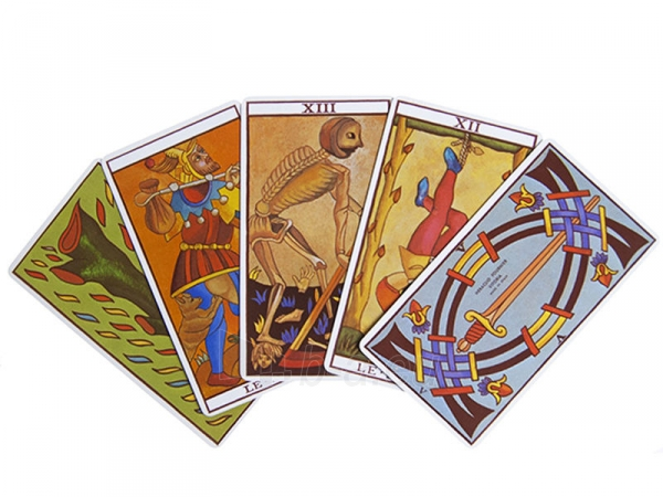 Taro kortos Le Tarot de Marseilles Paveikslėlis 6 iš 8 251010000280