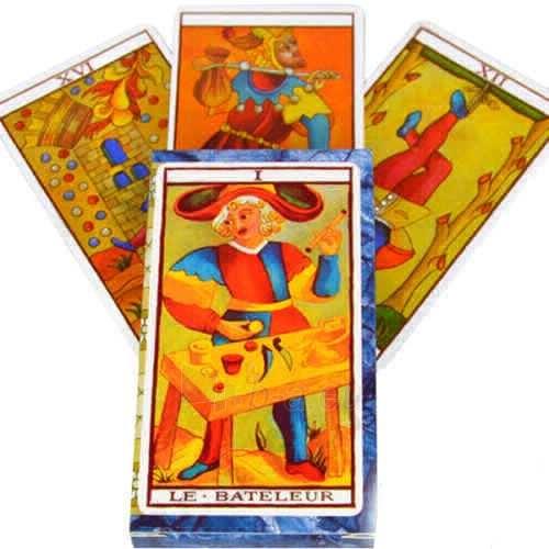 Taro kortos Le Tarot de Marseilles Paveikslėlis 8 iš 8 251010000280