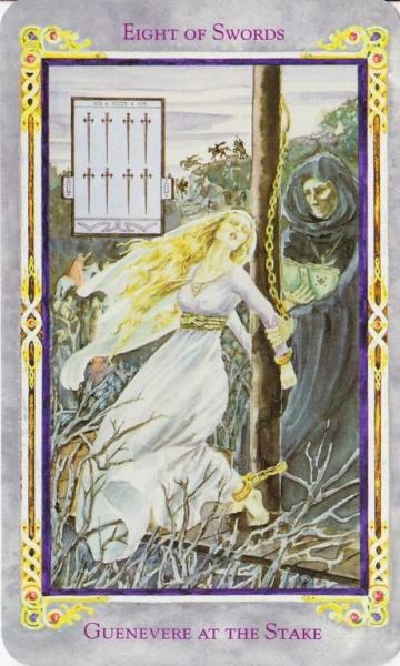 Taro Kortos Legend The Arthurian Paveikslėlis 2 iš 7 310820173178