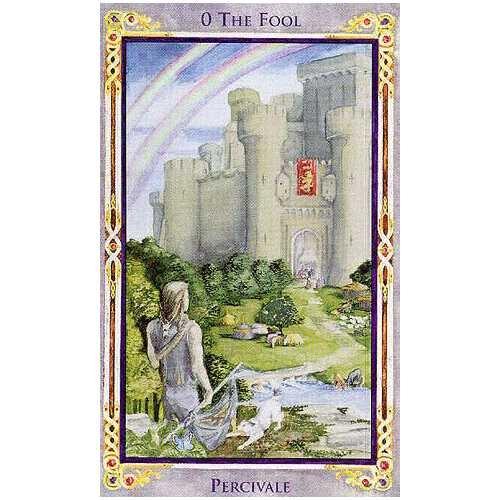 Taro Kortos Legend The Arthurian Paveikslėlis 4 iš 7 310820173178