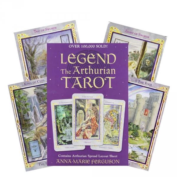 Taro Kortos Legend The Arthurian Paveikslėlis 5 iš 7 310820173178