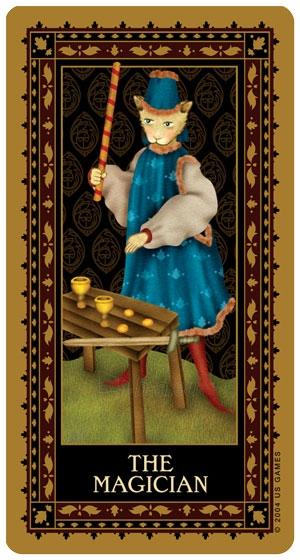 Taro kortos Medieval Cat Paveikslėlis 4 iš 8 310820104012