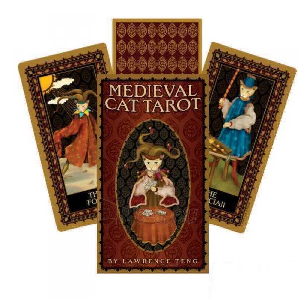 Taro kortos Medieval Cat Paveikslėlis 7 iš 8 310820104012