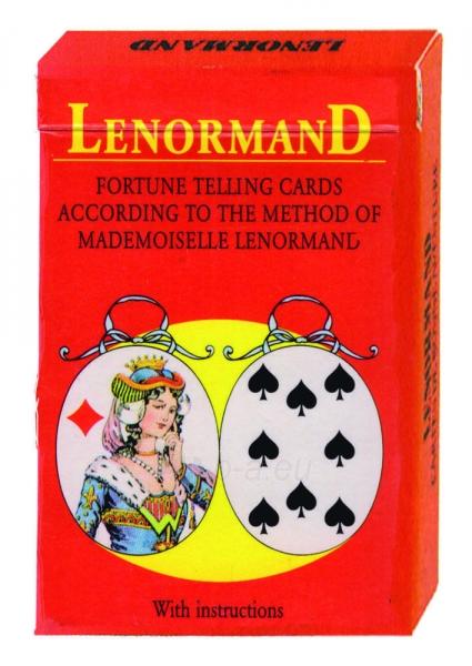 Taro Kortos Mlle Lenormand Paveikslėlis 1 iš 7 310820142653