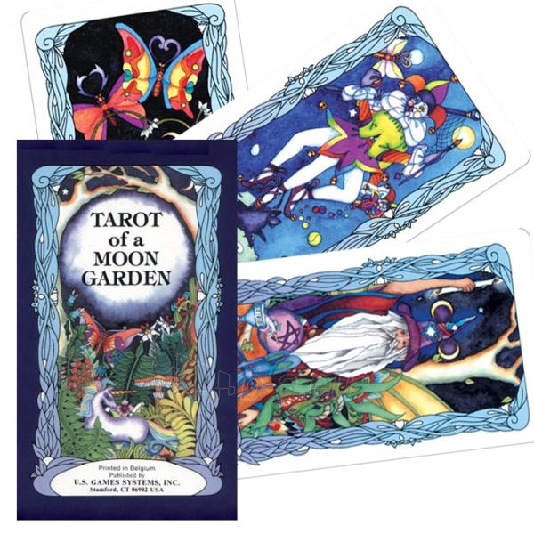 Taro kortos Moon Garden Paveikslėlis 1 iš 8 310820103857