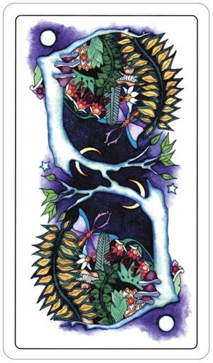 Taro kortos Moon Garden Paveikslėlis 2 iš 8 310820103857