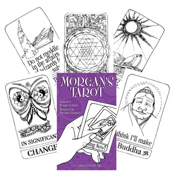 Taro kortos Morgans Paveikslėlis 5 iš 8 310820173472