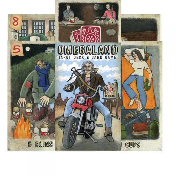 Taro kortos Omegaland Paveikslėlis 8 iš 8 310820142761