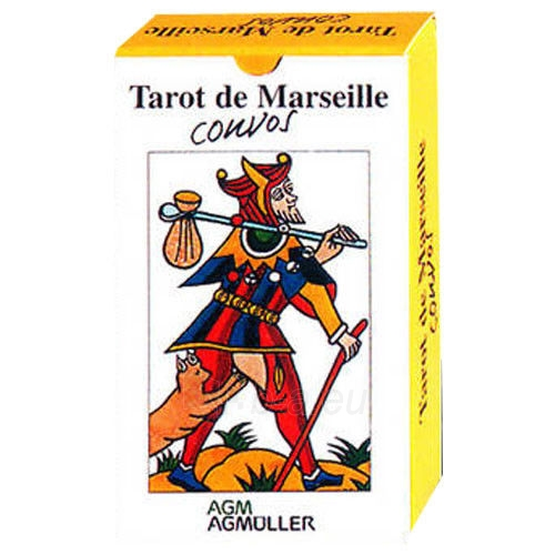 Taro Kortos Tarot de Marseille Convos Paveikslėlis 1 iš 9 310820142657