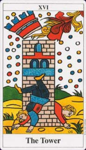 Taro Kortos Tarot de Marseille Convos Paveikslėlis 4 iš 9 310820142657