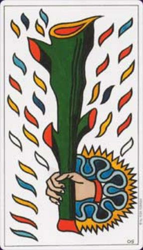 Taro Kortos Tarot de Marseille Convos Paveikslėlis 6 iš 9 310820142657