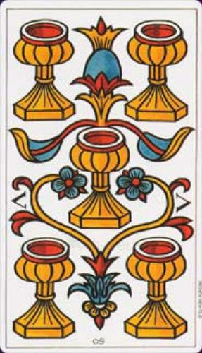 Taro Kortos Tarot de Marseille Convos Paveikslėlis 7 iš 9 310820142657