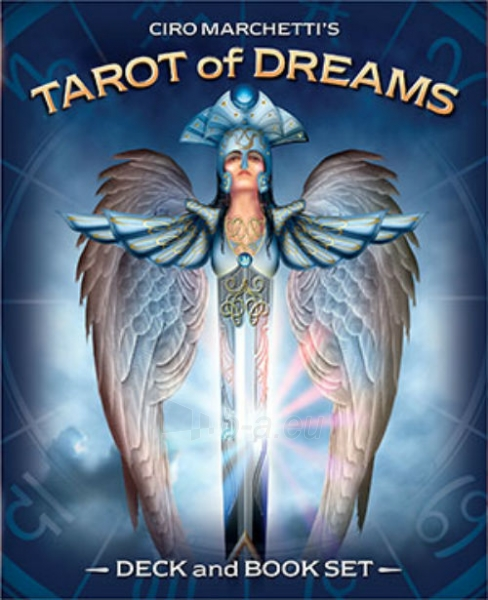 Taro kortos Tarot Of A Moon - Premier Edition Paveikslėlis 1 iš 8 310820127359