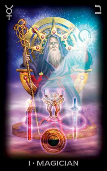 Taro kortos Tarot Of A Moon - Premier Edition Paveikslėlis 4 iš 8 310820127359