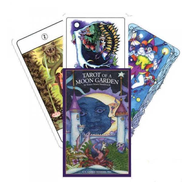 Taro kortos Tarot Of A Moon - Premier Edition Paveikslėlis 7 iš 8 310820127359