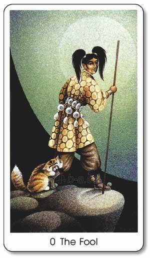 Taro kortos Tarot Of The Cats Paveikslėlis 2 iš 8 310820104017