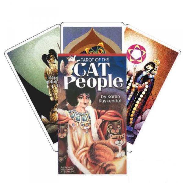 Taro kortos Tarot Of The Cats Paveikslėlis 8 iš 8 310820104017