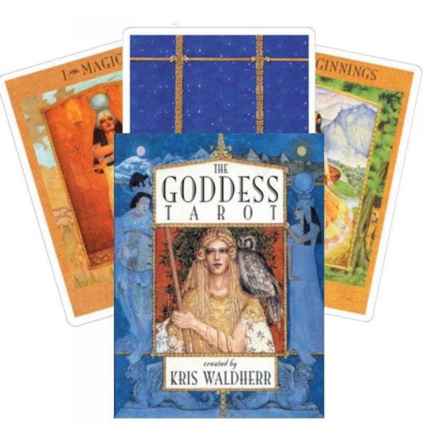 Taro kortos The Goddess Paveikslėlis 7 iš 8 310820104003