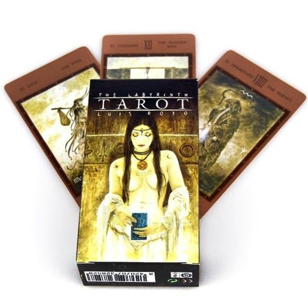 Taro kortos The Labyrinth Paveikslėlis 1 iš 5 251010000282