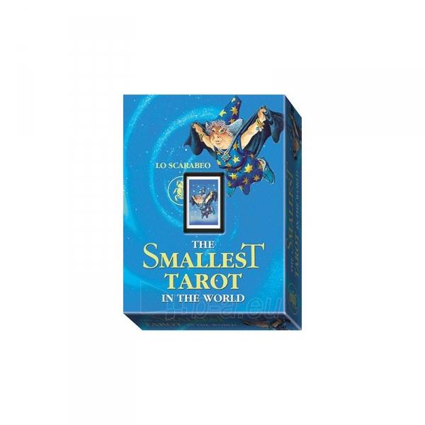 Taro Kortos The Smallest Tarot in the World Paveikslėlis 2 iš 4 310820127384