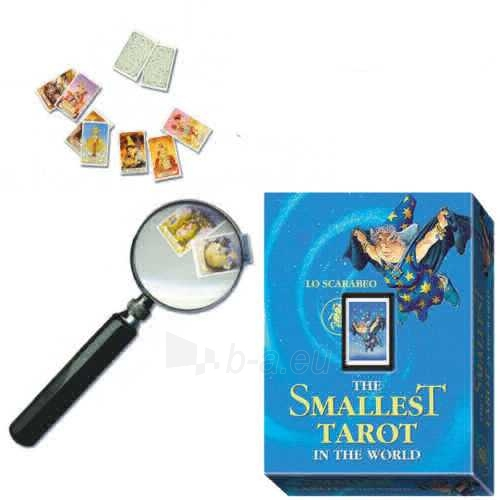 Taro Kortos The Smallest Tarot in the World Paveikslėlis 3 iš 4 310820127384