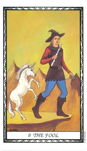 Taro kortos Unicorn Paveikslėlis 8 iš 10 310820103989