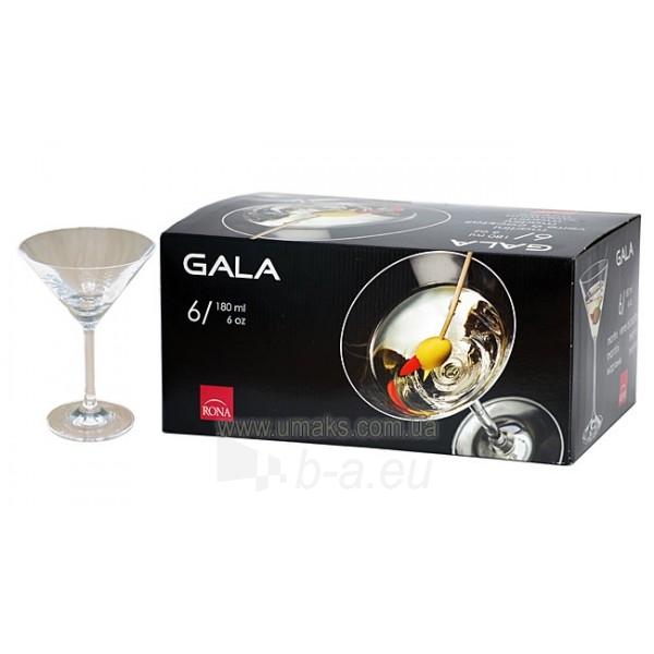 Taurės martiniui 180ml GALA 6 vnt. 2570 Paveikslėlis 1 iš 1 310820030151