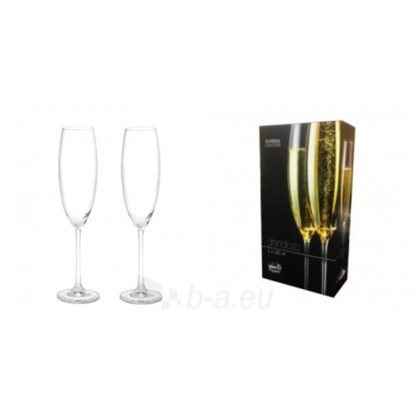 Taurės šampanui 230ml 2 vnt. GRANDIOSO Paveikslėlis 1 iš 1 310820030156