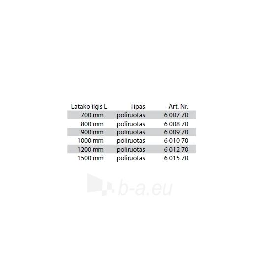 Tece ''Plate'' dušo latako grotelės įklijuojamai plytelei 700 Paveikslėlis 2 iš 3 270790000079