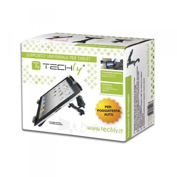 Techly Automobilinis laikiklis skirtas planš. komp./ iPad 7-10.1 Juodas Paveikslėlis 2 iš 4 2502560202208